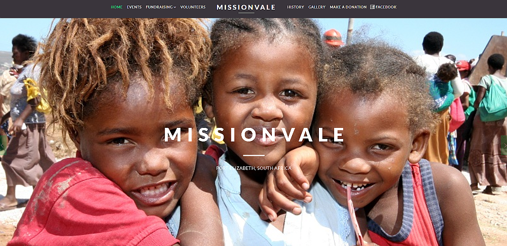 Missionvale Joomla Website